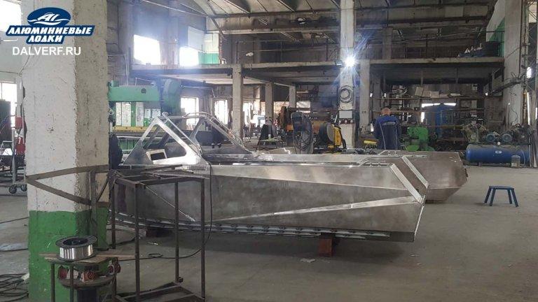 завод по производству алюминиевых лодок