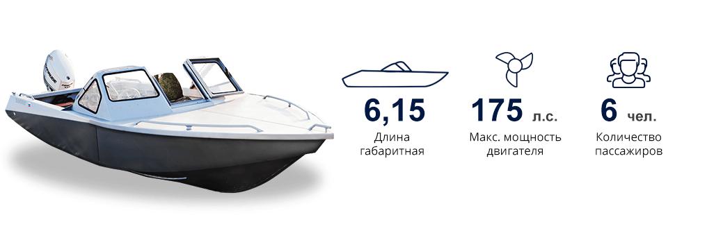 Характеристики алюминиевой лодки Самурай