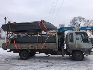 Доставка алюминиевых лодок и катеров российского производства
