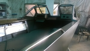 Алюминиевая лодка Самурай