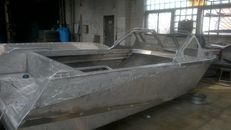 алюминиевые лодки производство спб