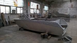 Процесс изготовления алюминиевых лодок на заказ