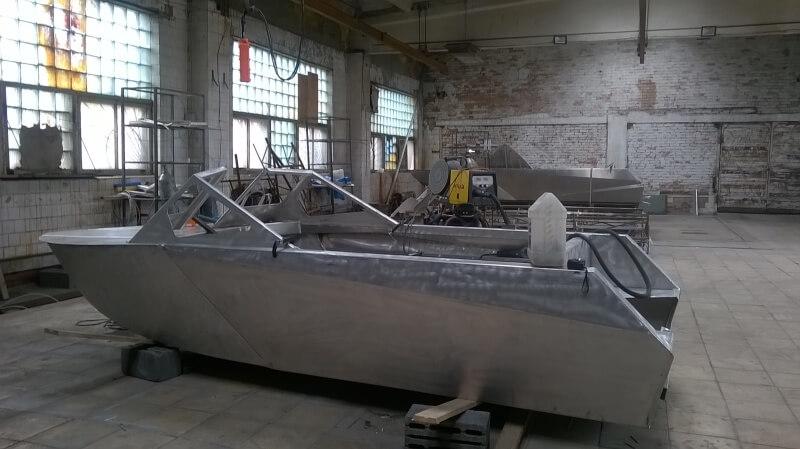 алюминиевые моторные лодки производство