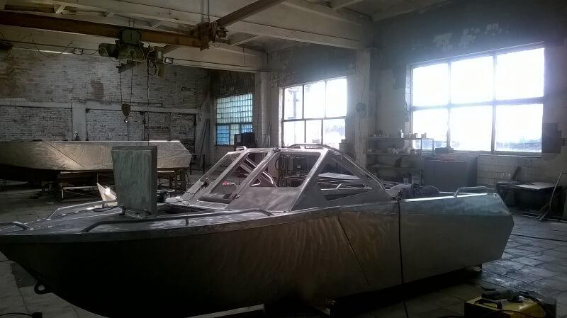 изготовление алюминиевой лодки на заказ