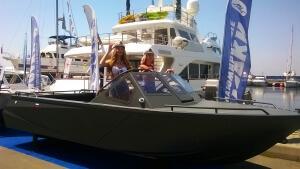 Алюминиевая лодка Барракуда