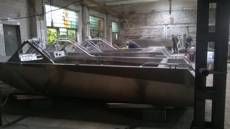 Виды повреждений лодок из алюминиевых сплавов