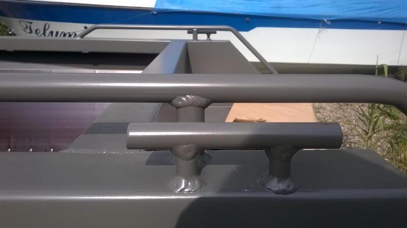 Утки швартовые кормовые для алюминиевых лодок