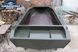 Алюминиевая лодка российского производства Север 4200