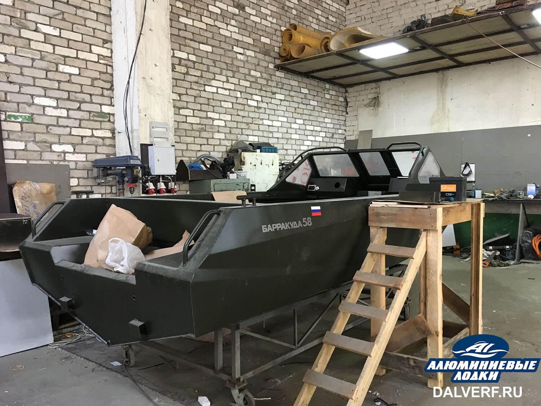 Лодка алюминиевая Барракуда 55