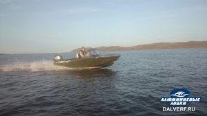 Лодка алюминиевая Север 4200 Н (модель закрытый нос)