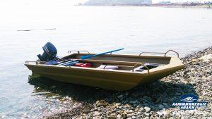Алюминиевая лодка Якут 4800