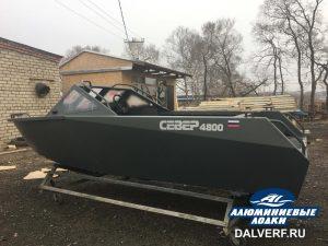 Алюминиевая лодка Север 4800